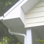 roof gutter siding